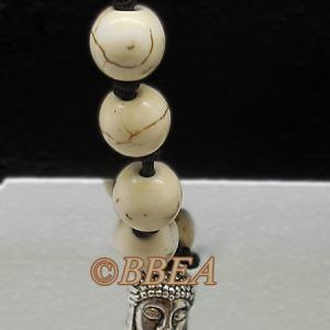 Bracelet tibetain magnesite 3637