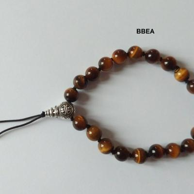 Bracelet tibetain oeil de tigre 2