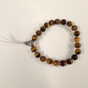 Bracelet tibetain oeil de tigre 4
