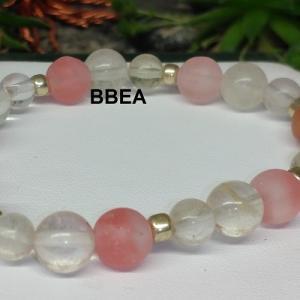 Bracelet tourmaline melon d eau 3