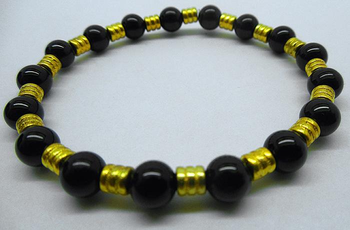 Bracelet tourmaline noire 2711