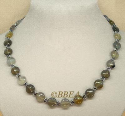 Collier agate 3390