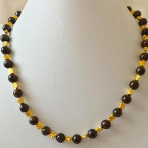 Collier bronzite 1