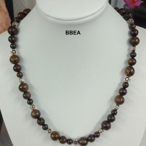 Collier bronzite 2