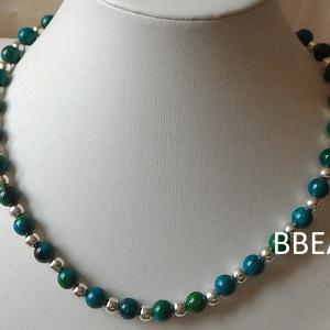 Collier chrysocolle 2 1