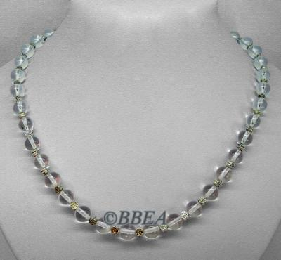 Collier cristal de roche 3377