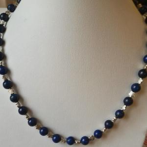 Collier lapis lazuli 1