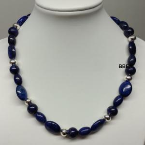 Collier lapis lazuli 11