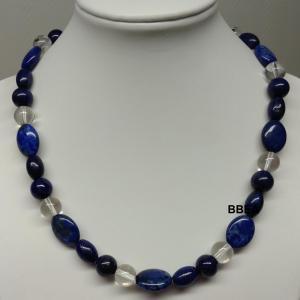 Collier lapis lazuli 12