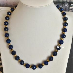 Collier lapis lazuli 2 1