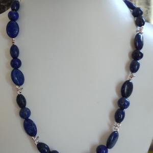 Collier lapis lazuli 2 5