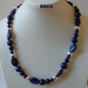 Collier lapis lazuli 2
