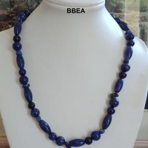 Collier lapis lazuli 4