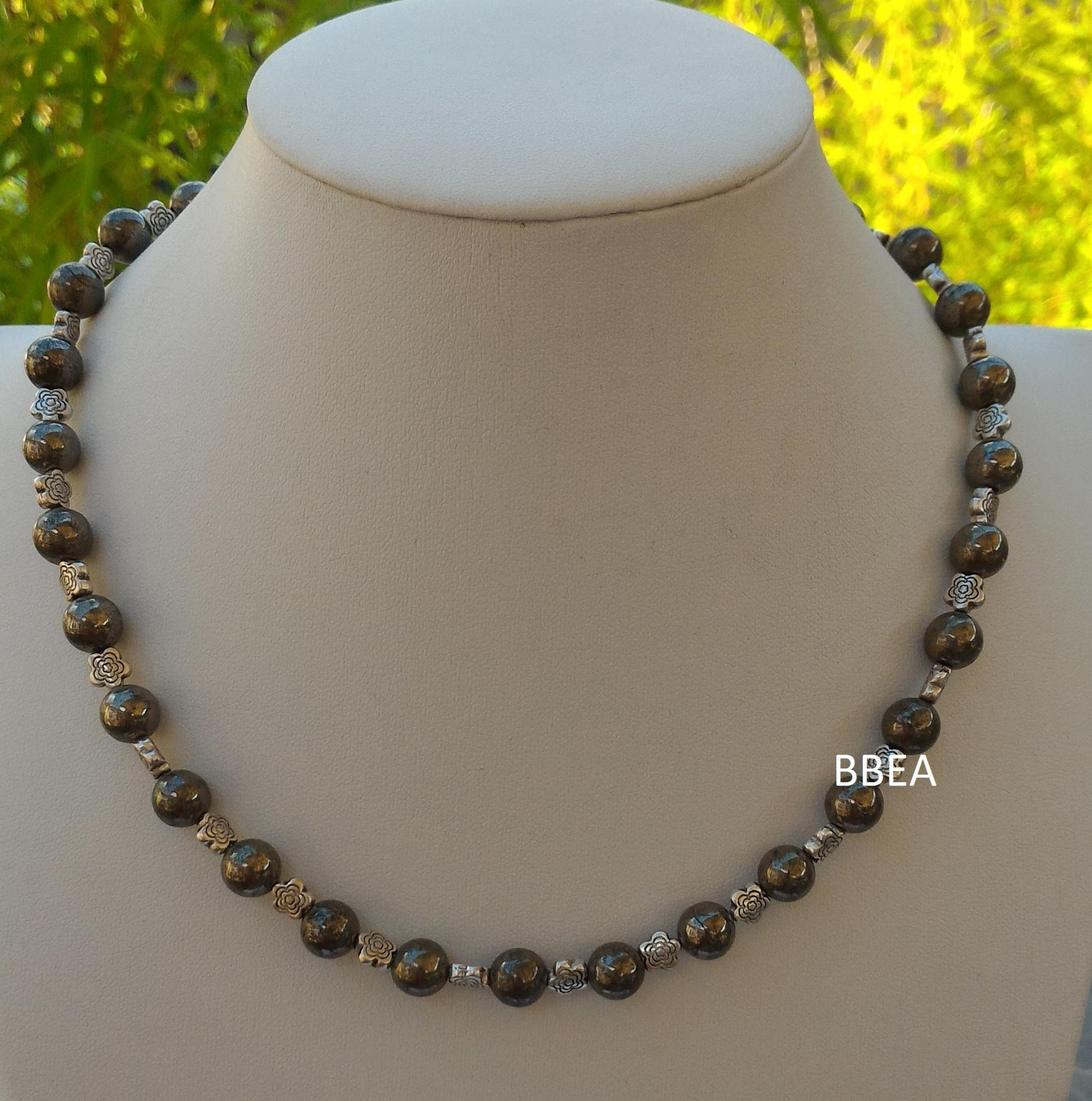 Collier pyrite 2