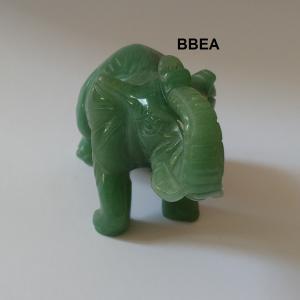 Elephant aventurine verte 2