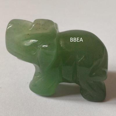 Elephant aventurine verte 25 g 3x4 cm