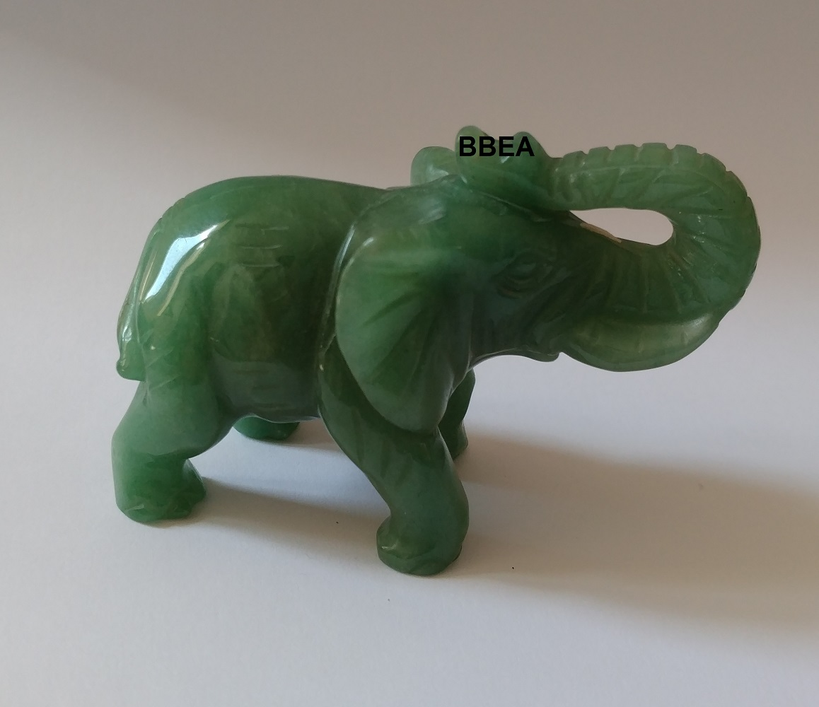 Elephant aventurine verte 3