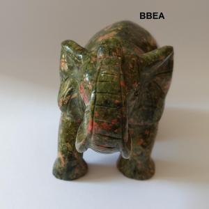 Elephant en unakite 1