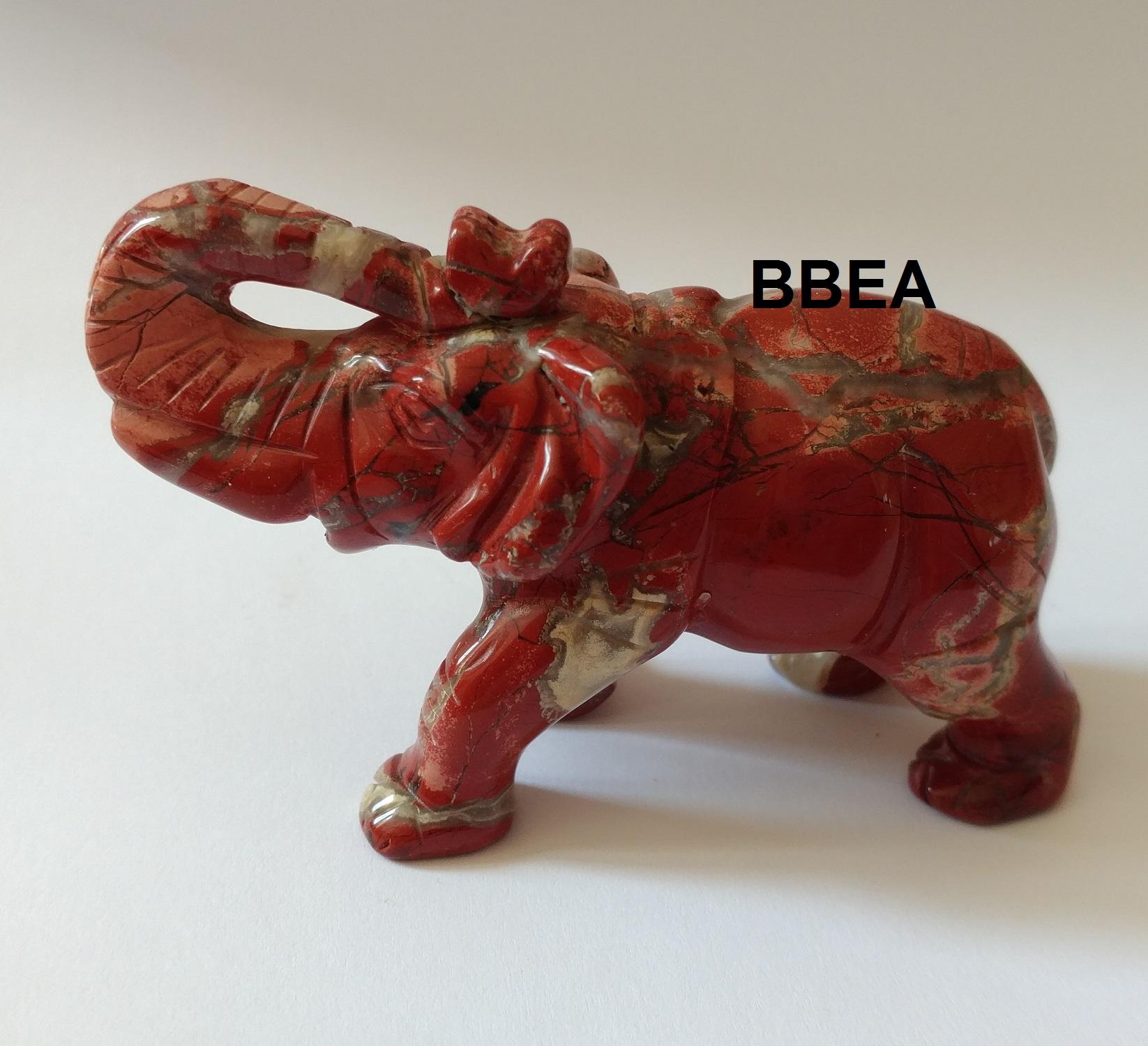 Elephant jaspe rouge 1 1