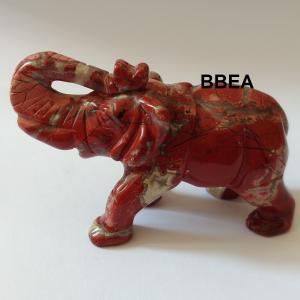 Elephant jaspe rouge 1 2