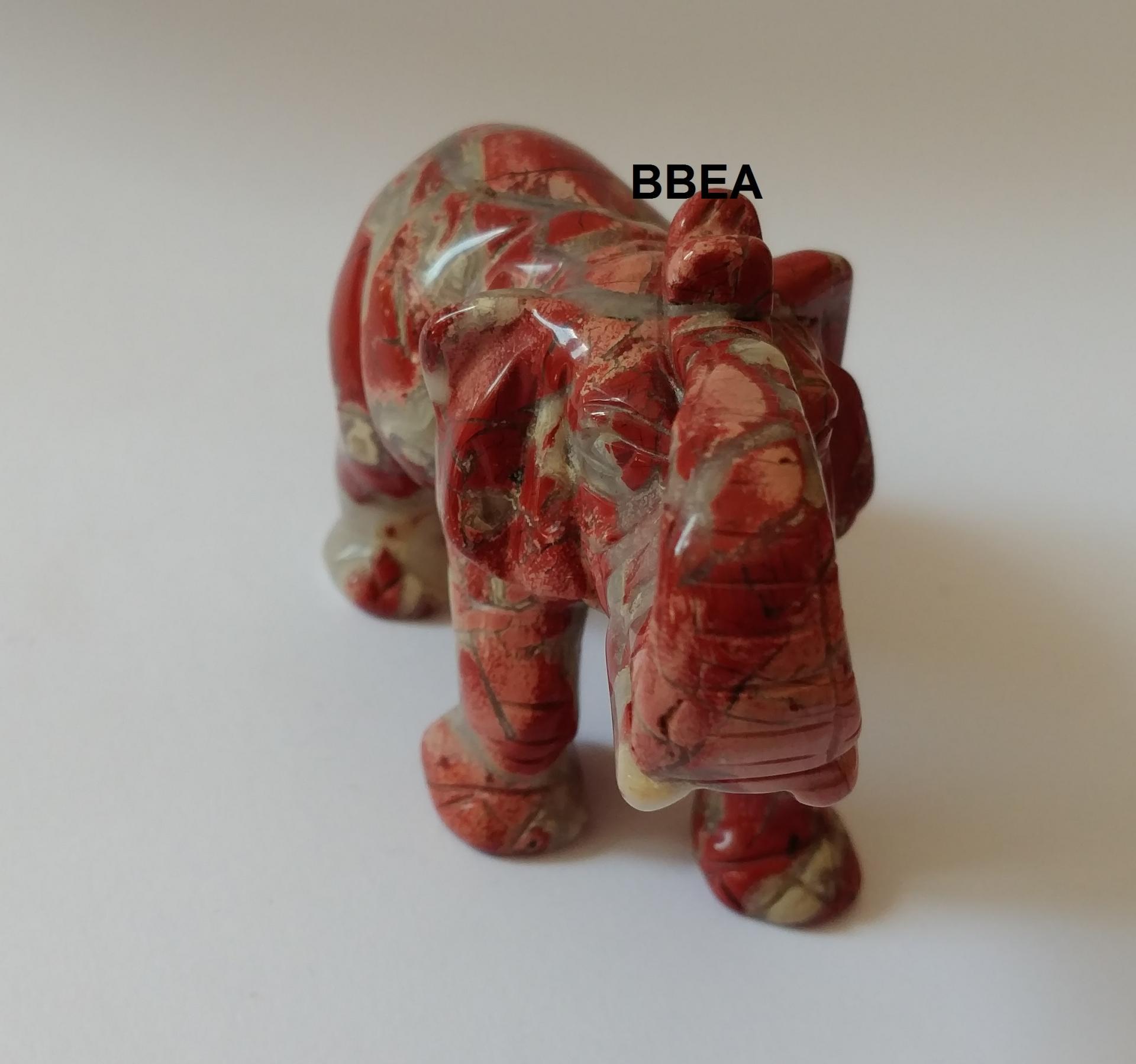 Elephant jaspe rouge 2 1