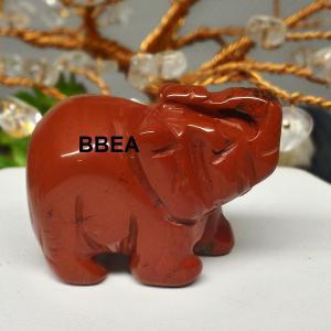 Elephant jaspe rouge 2