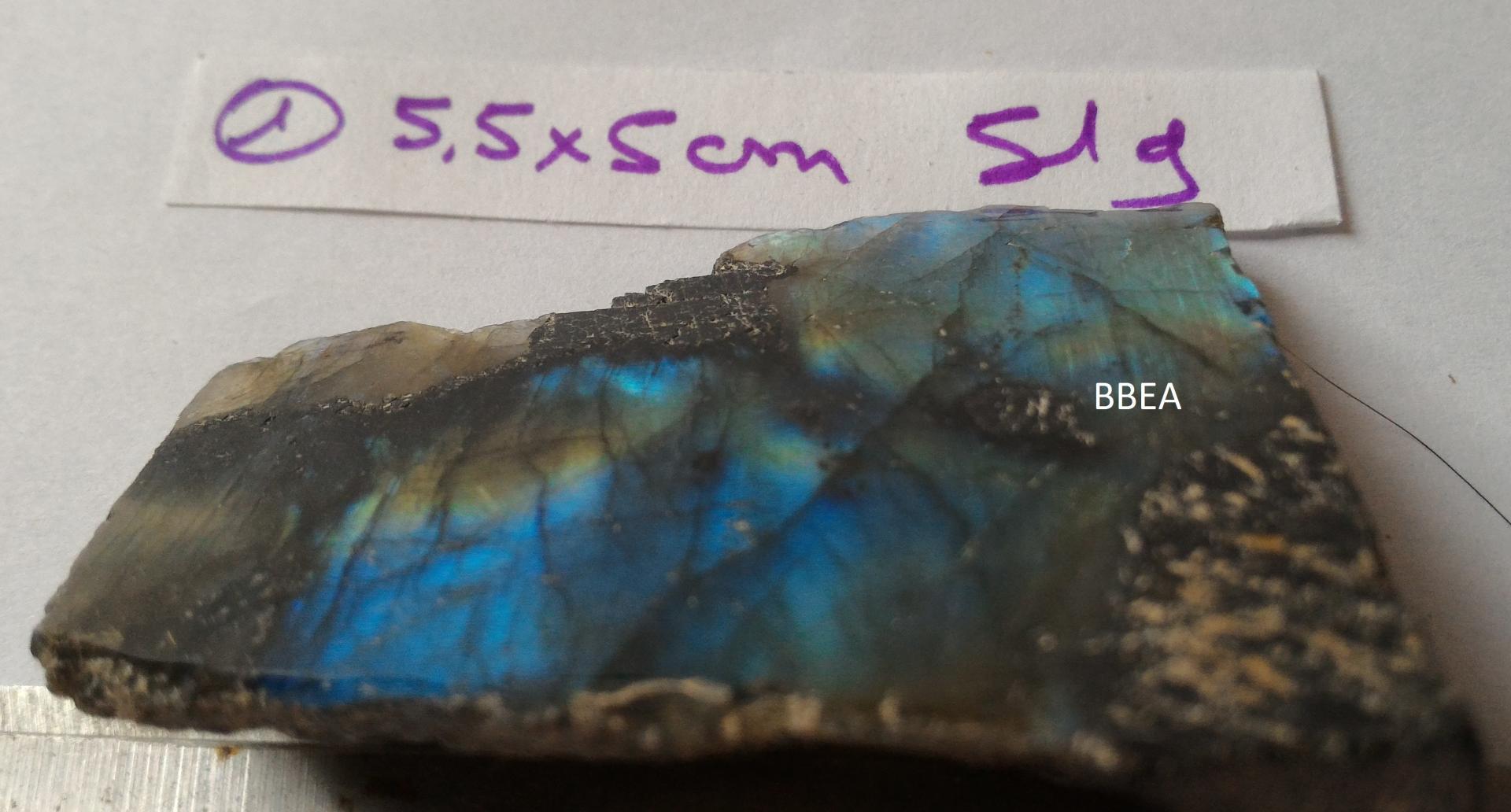 Labradorite 1 face n 1 51g 5 5x5cm 1