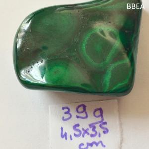 Malachite 39g 4 5x3 5cm 1