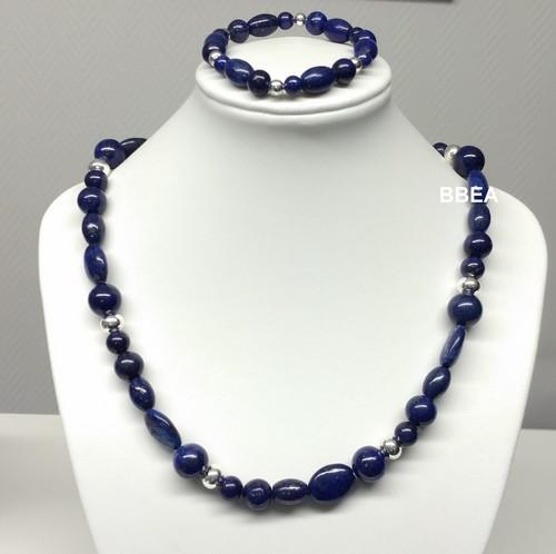 Parure lapis lazuli 2