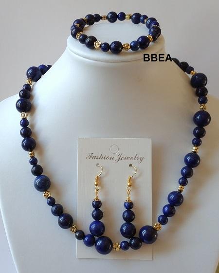 Parure lapis lazuli 3
