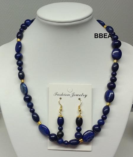 Parure lapis lazuli 4