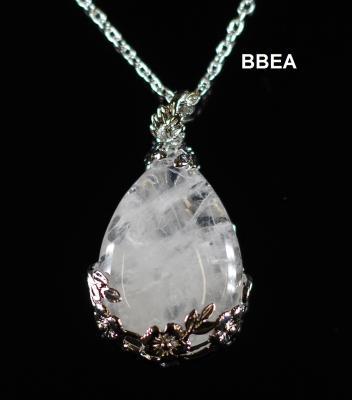 Pendentif cristal de roche 2 1