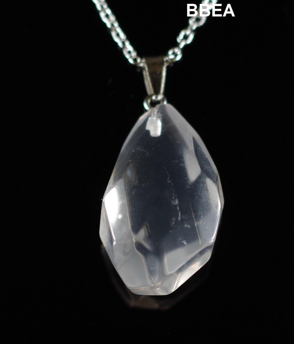 Pendentif cristal de roche 3 1
