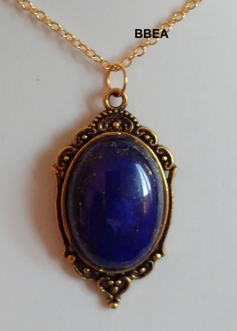 Pendentif lapis lazuli 2 1
