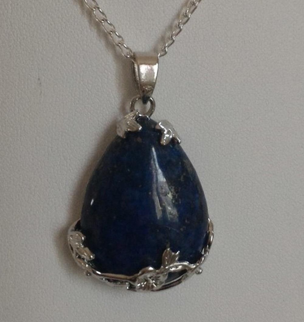 Pendentif lapis lazuli 6 1