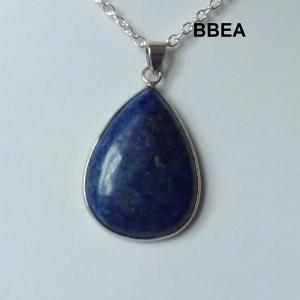 Pendentif lpais lazuli 3