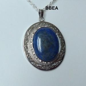 Pendentif lpais lazuli 4