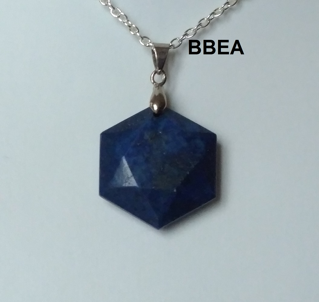 Pendentif lpais lazuli 5