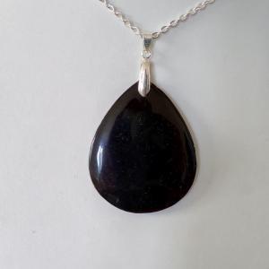 Pendentif obsidienne 1