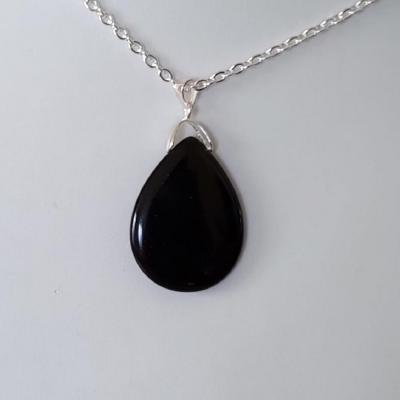 Pendentif obsidienne 3
