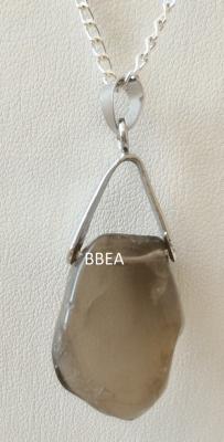 Pendentif quartz fume 1