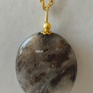 Pendentif quartz lodolite 3