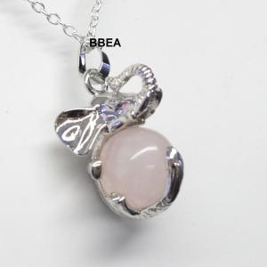 Pendentif quartz rose 1 5