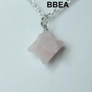 Pendentif quartz rose 6 2