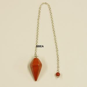 Pendule jaspe rouge 3