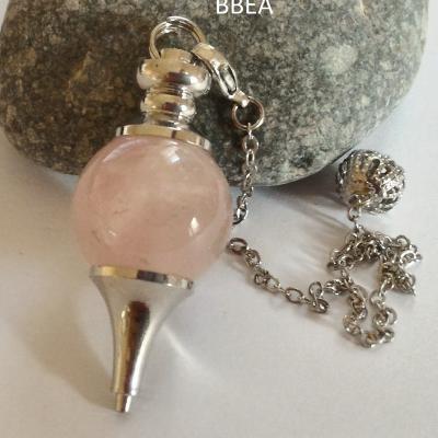 Pendule quartz rose 18mm