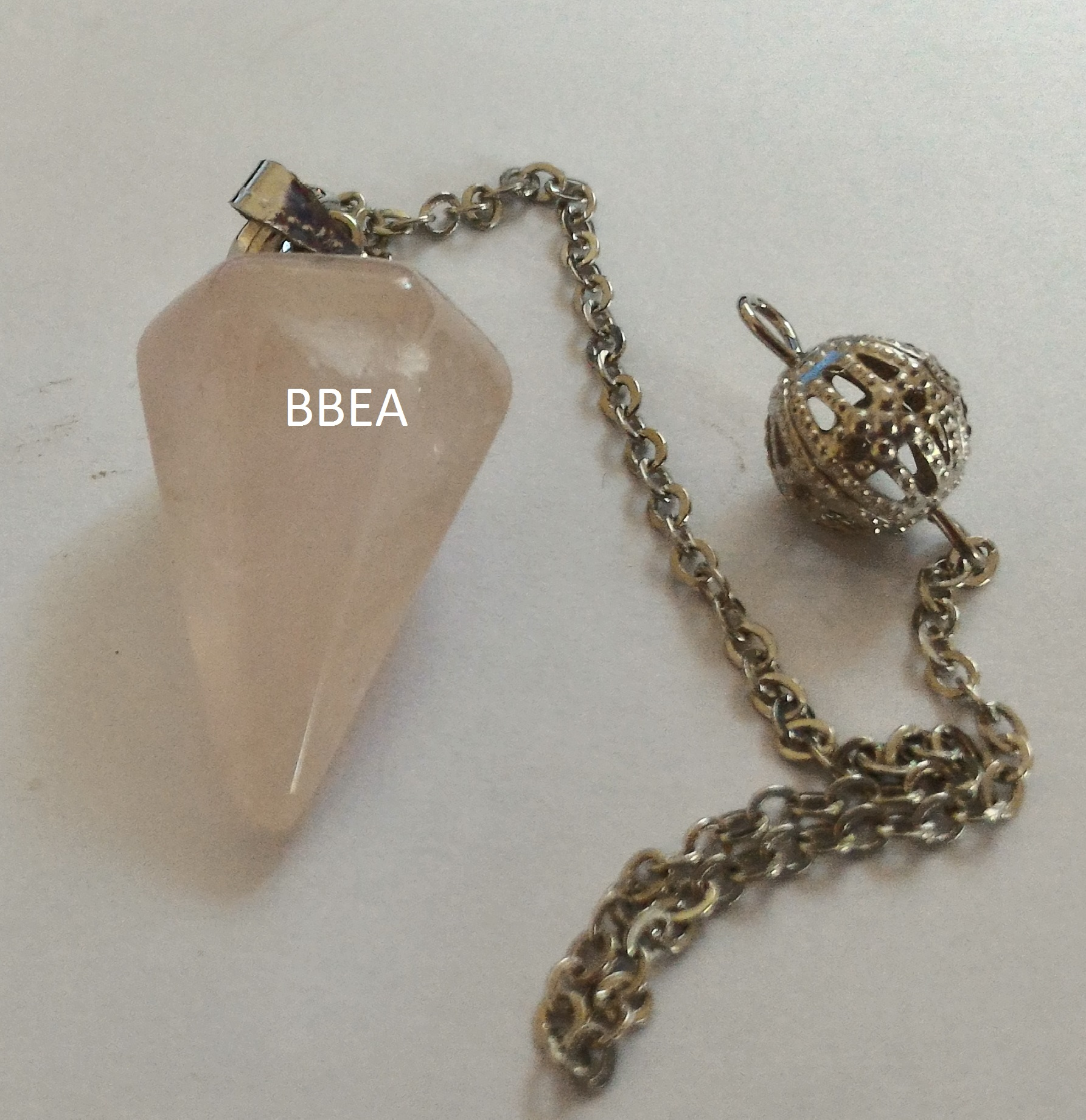 Pendule quartz rose 23mm