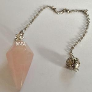 Pendule quartz rose 25mm