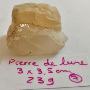 Pierre de lune 23g 3x3 5cm 1