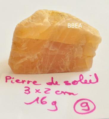 Pierre de soleil 16g 3x2cm